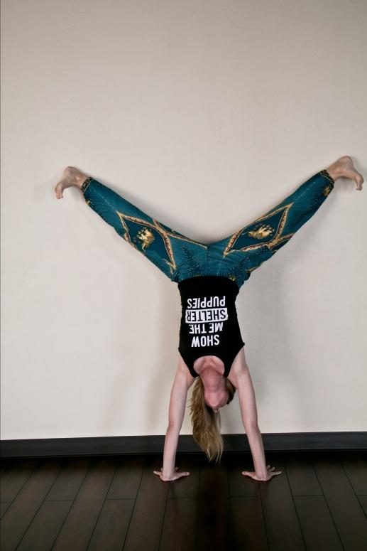 erica handstand